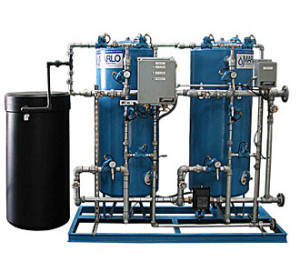 Duplex Water Softener Steel