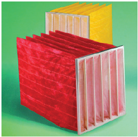 Glasfloss Excel extended surface bag filters are constructed with 100% synthetic media fibers.