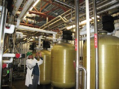 Carbon Filter Dechlorination City Water for Dairy Yogurt Manufacturing.