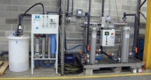 Reverse Osmosis Skid with Carbon Pretreatment